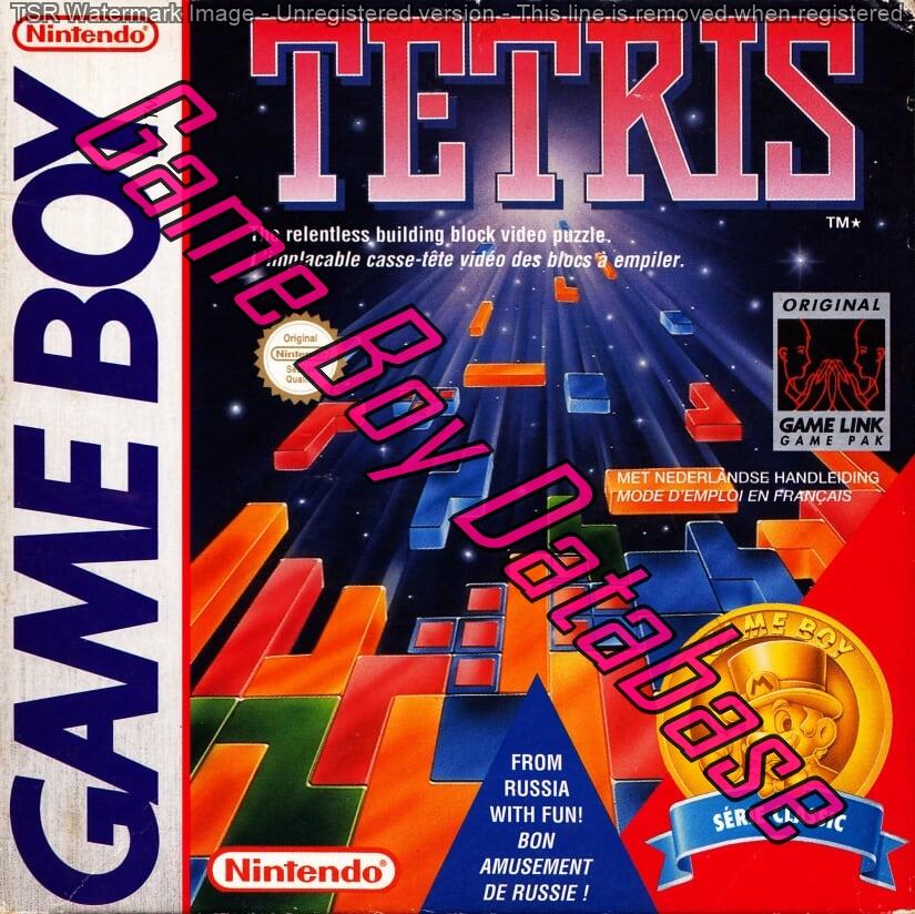 Liste des jeux format classics boîte rouge game boy 2864