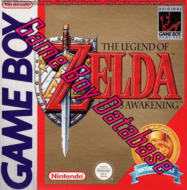 Liste des jeux format classics boîte rouge game boy 3217