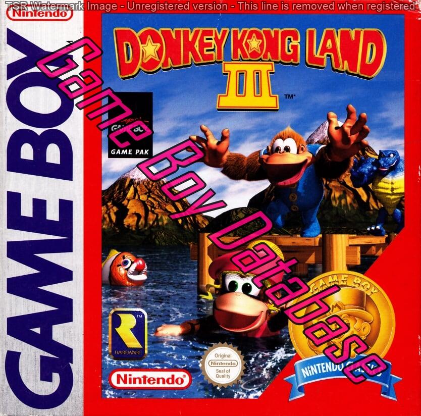 Liste des jeux format classics boîte rouge game boy 3262