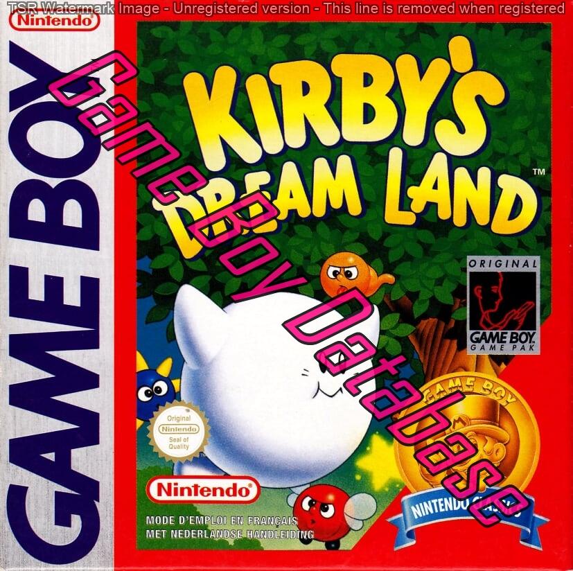 Liste des jeux format classics boîte rouge game boy 3297