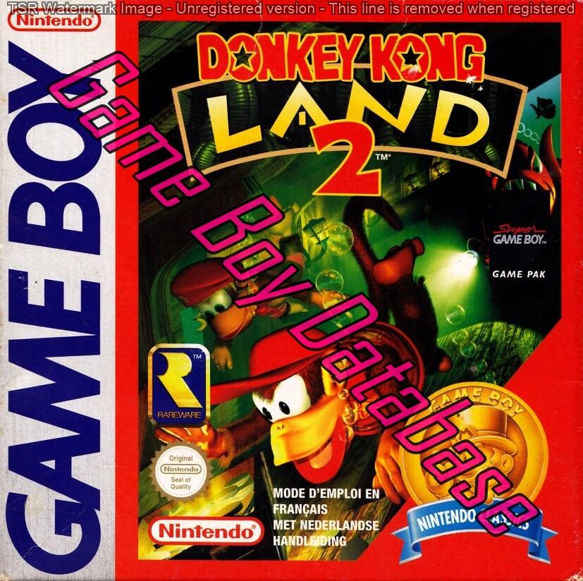 Liste des jeux format classics boîte rouge game boy 3298